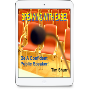 Speaking With Ease (Speaker Success Coaching Program)